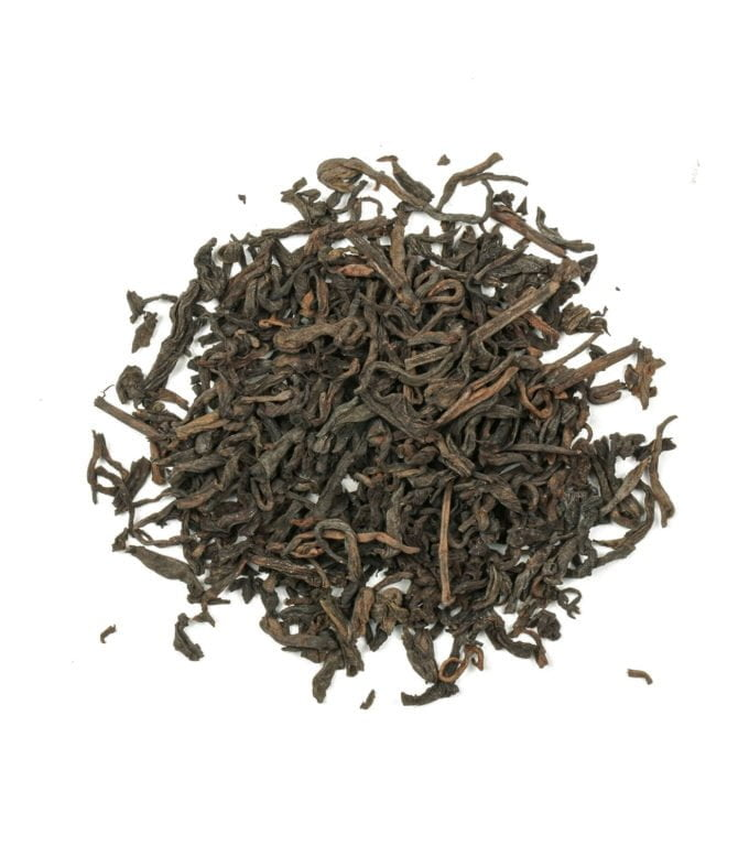 Pu Ehr Black Tea Leaves