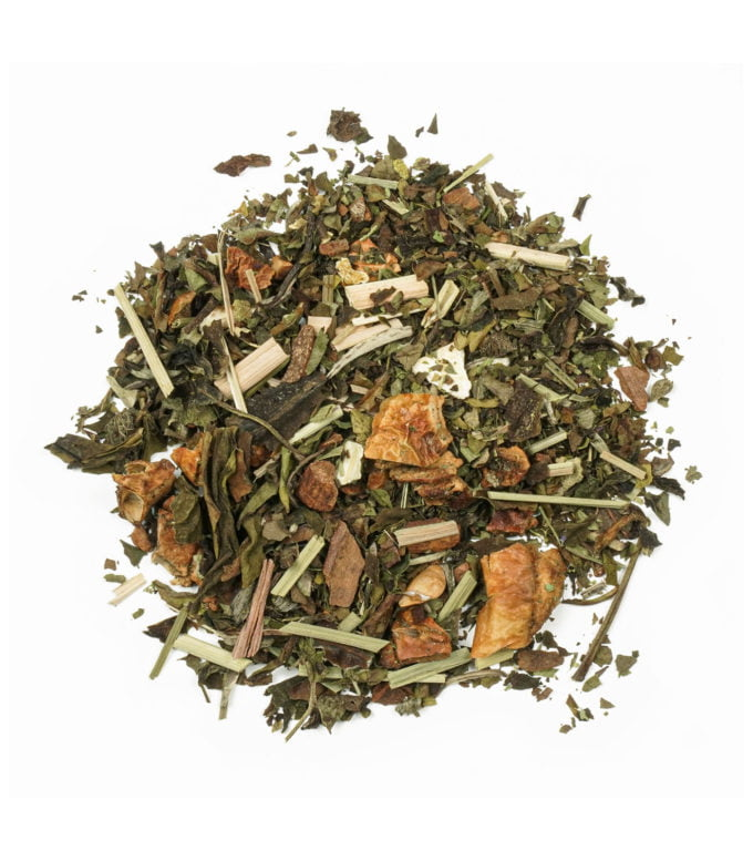 White Tea Cinnamon and Citrus Leaves